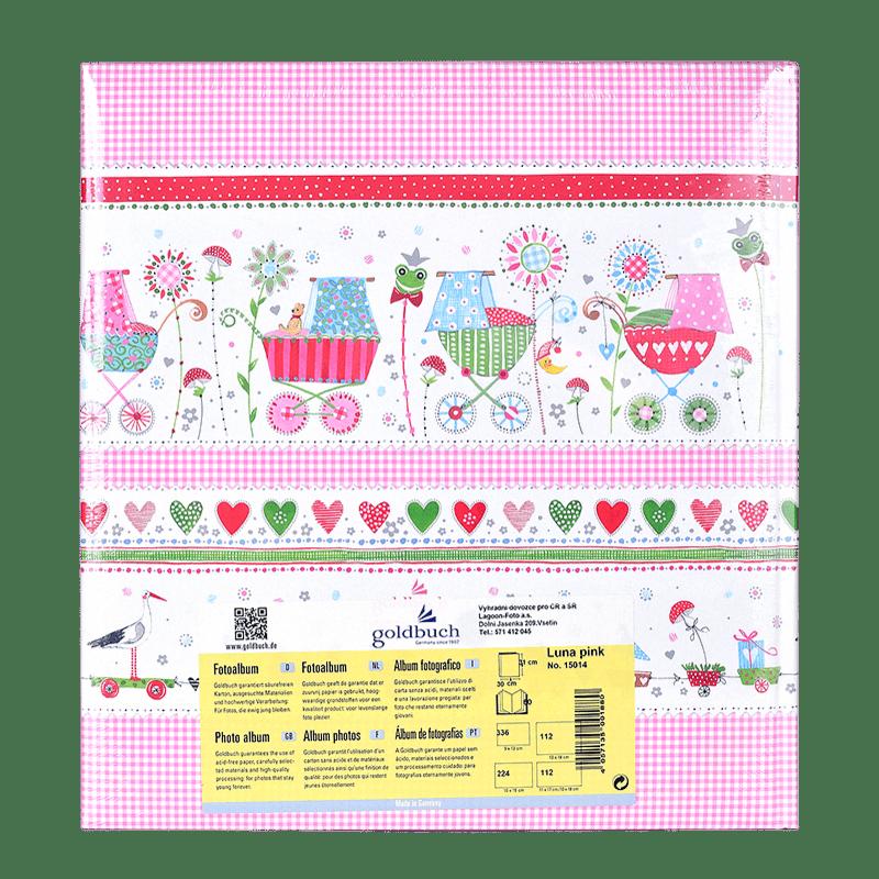 Goldbuch luna pink