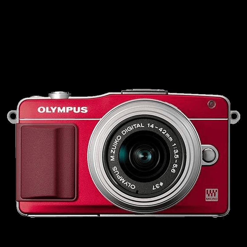 Olympus E-PM2 + obj. 14-42 červený