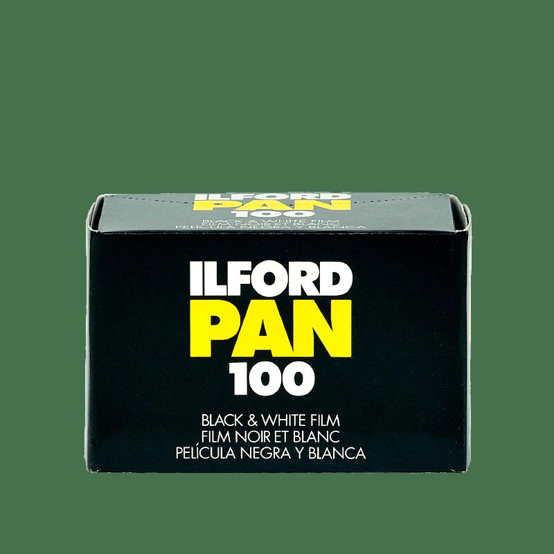 Čiernobielý 35mm film Ilford pan 100/36