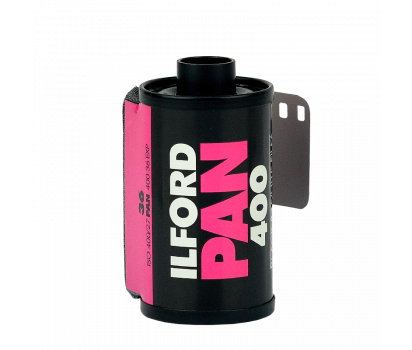 Čiernobielý 35mm film Ilford pan 400/36