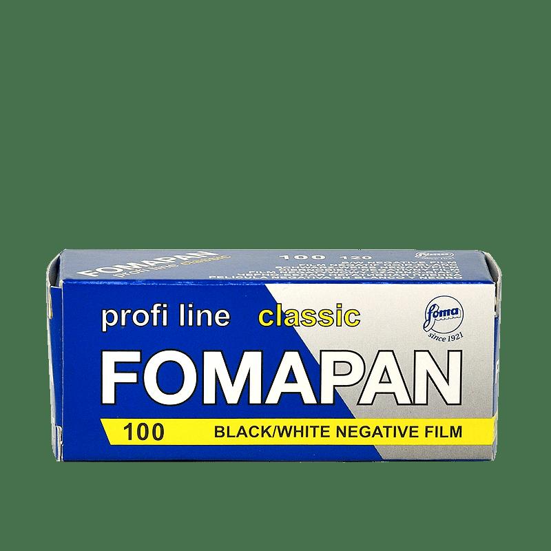 Čiernobielý zvitkový film Fomapan profiline classic 100