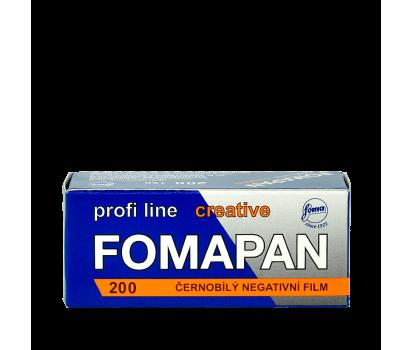 Čiernobielý zvitkový film Fomapan profiline creative 200
