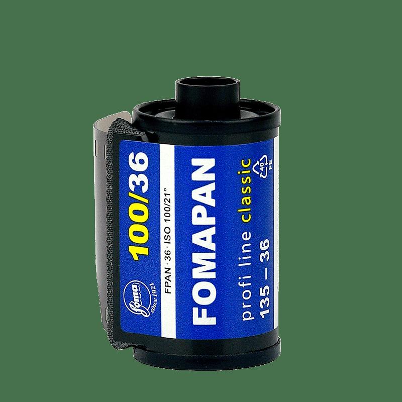 Čiernobielý 35mm film Fomapan 100/36