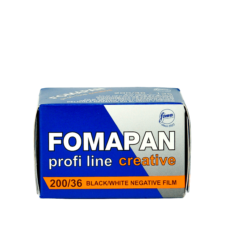 Čiernobielý 35mm film Fomapan creative 200/36