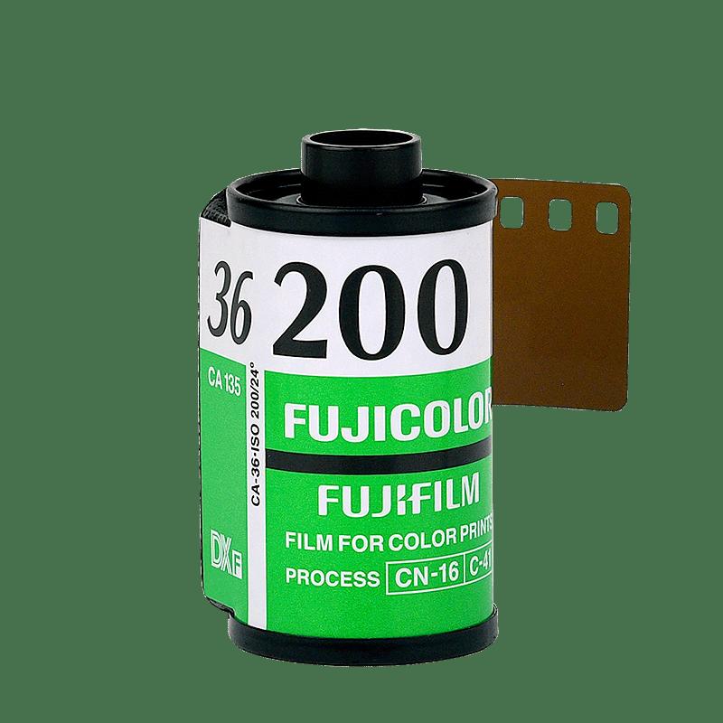 Farebný 35mm film Fujicolor 200/36