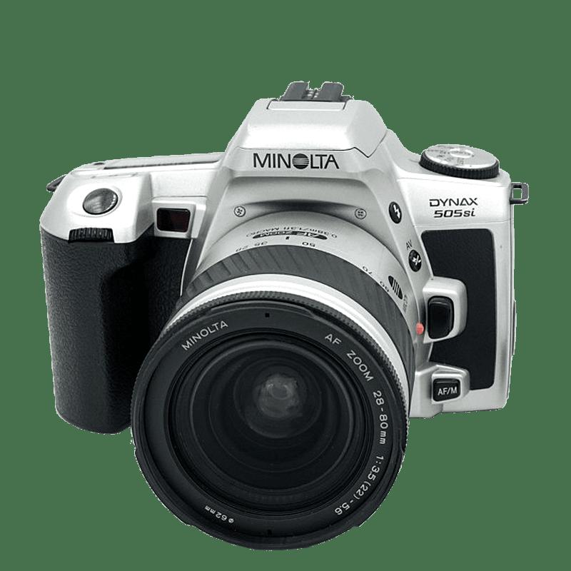 Minolta 505si + obj. 28-70mm