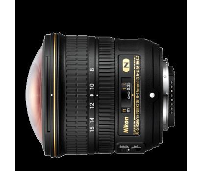 Nikkor fisheye 8-15mm f/3,5 – 4,5E ED
