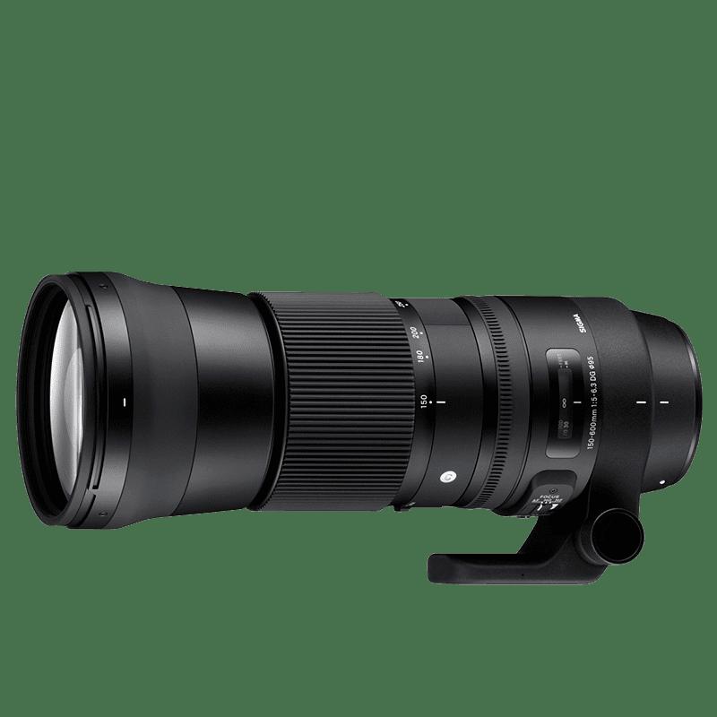 Sigma 150-600mm f/5-6,3 DG (pre Nikon)