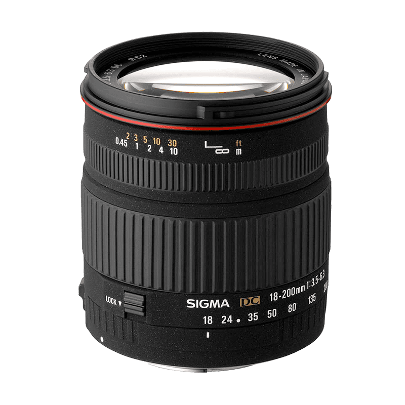 Sigma 18-200mm f/3,5-6,3 DC (pre Nikon)
