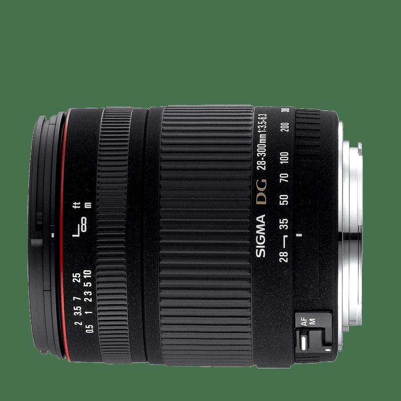 Sigma 28-300mm f/3,5-6,3 DG Macro (pre Nikon)