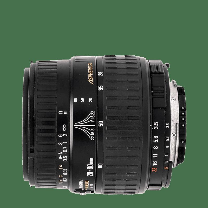 Sigma 28-80mm f/3,5-5,6 Aspherical AF D (pre Nikon)