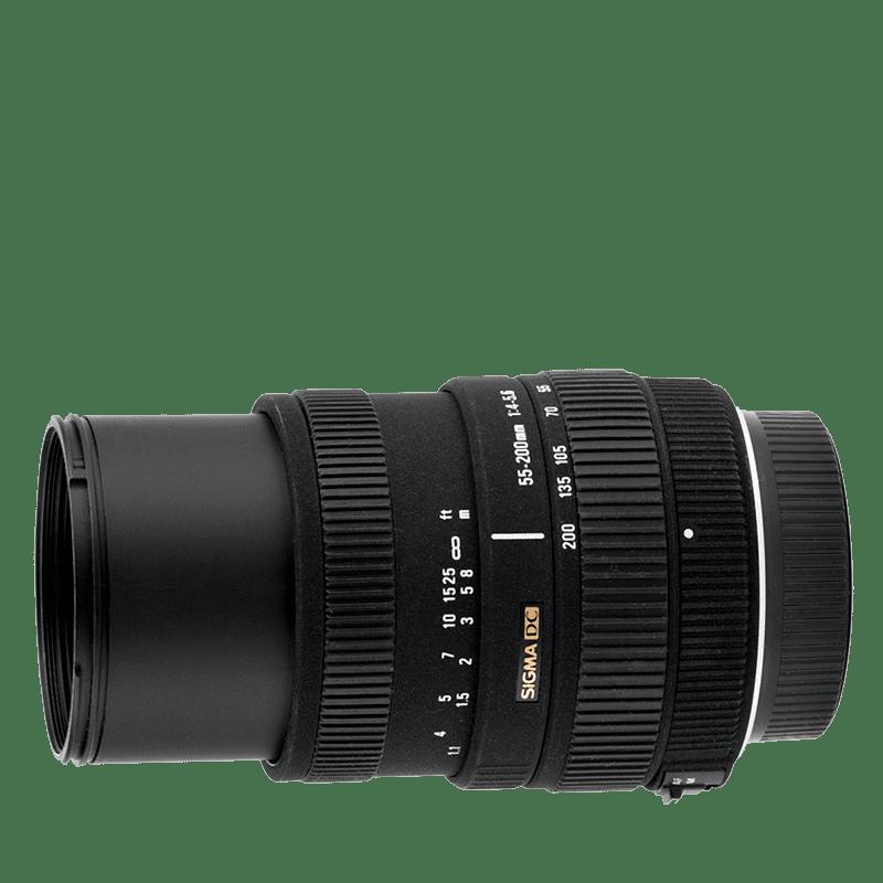 Sigma 55-200mm f/4-5,6 DC (pre Nikon)