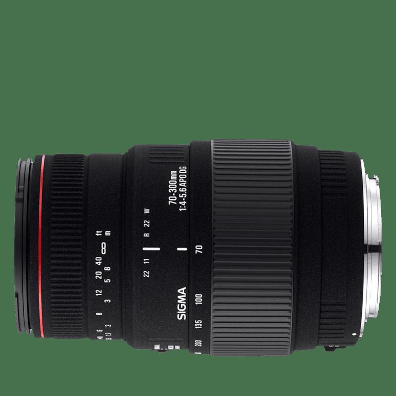 Sigma 70-300mm f/4-5,6 APO DG Macro (pre Canon)