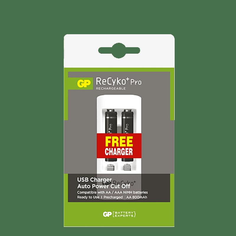 2x AAA nabíjateľné batérie GP