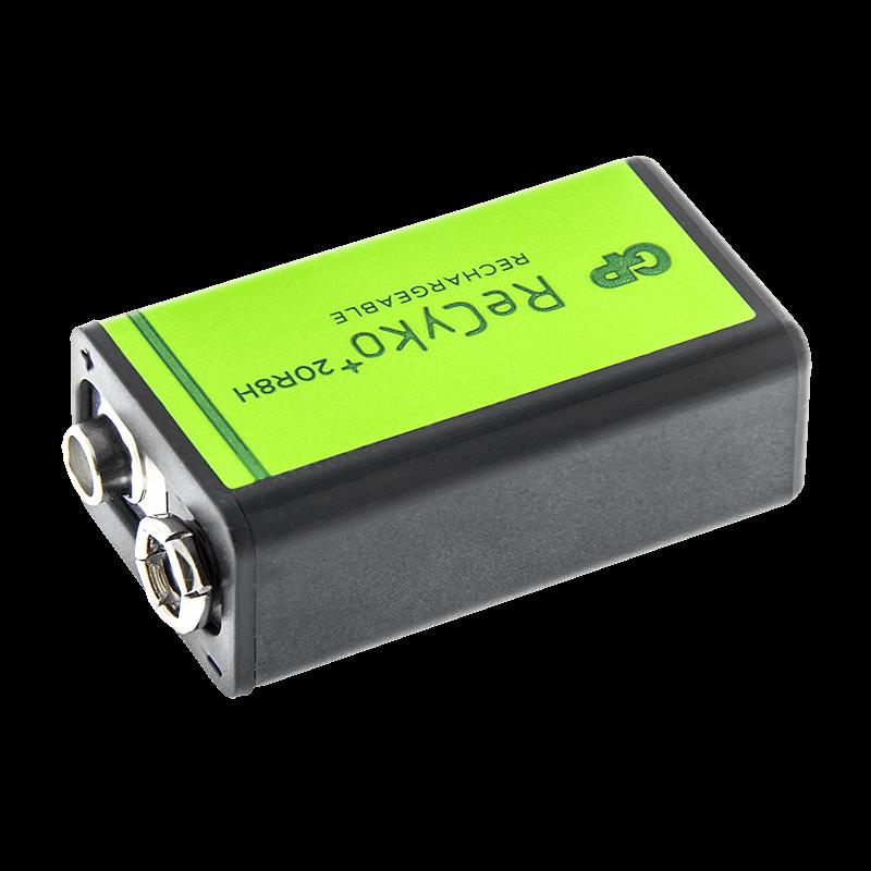 Nabíjateľná batéria recyko+ 9V