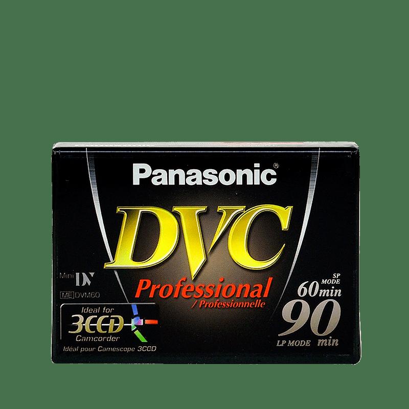 Videokazeta Panasonic miniDV 60min