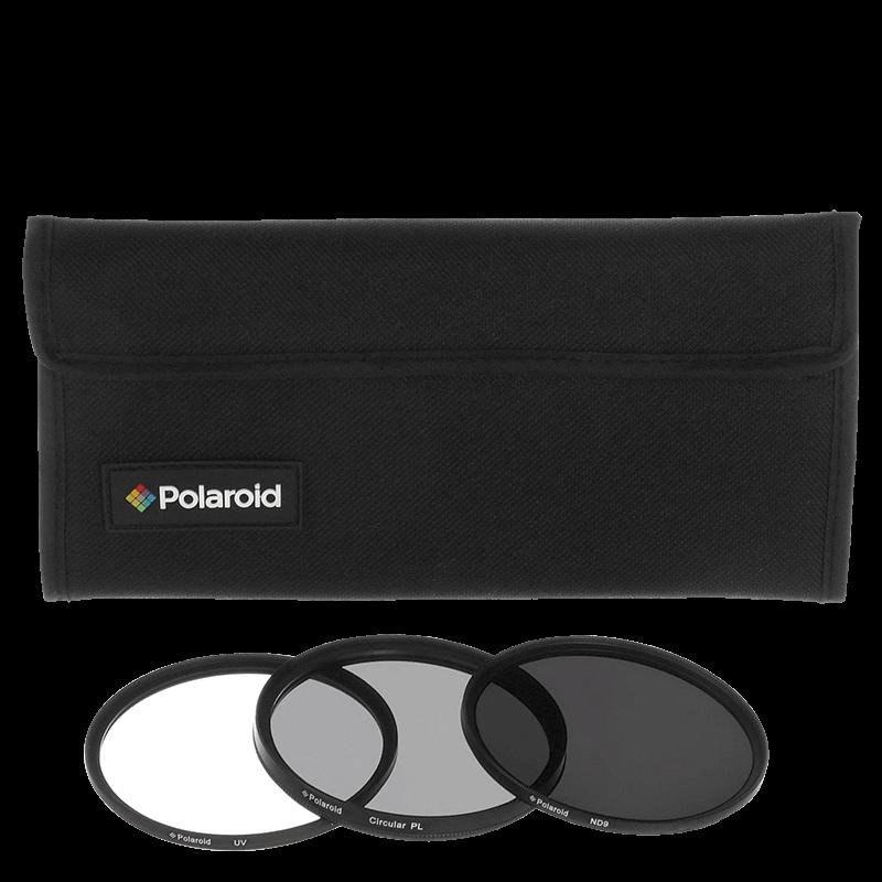Polaroid sada 3 filtrov (rôzne veľkosti)