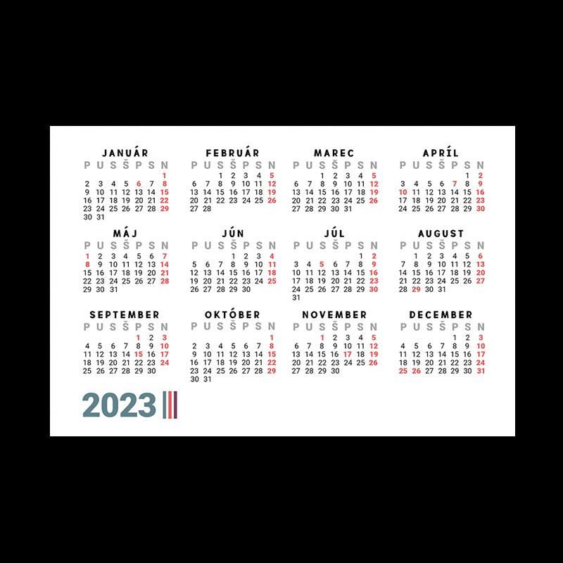 Vreckové kalendáriky 2022