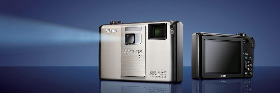 fotoaparat s projektorom