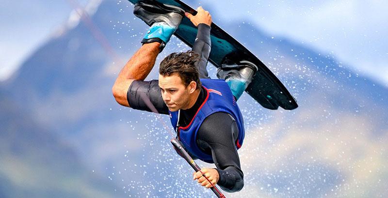 surfer na vode