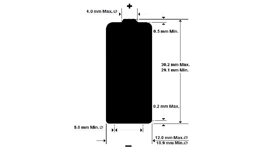 rozmer baterky lr1