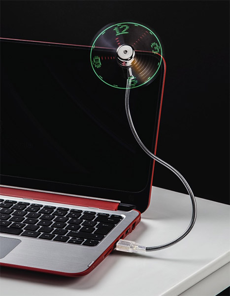 mini led ventilator